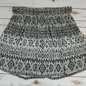 Lane Bryant Size 18 20 Skirt 18/20 Black Pleated